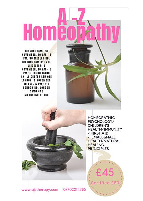 Homeoapthy Workshop