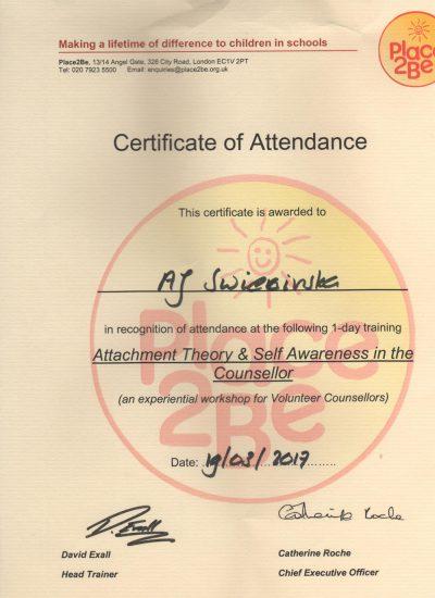 Self Awarness Counsellor